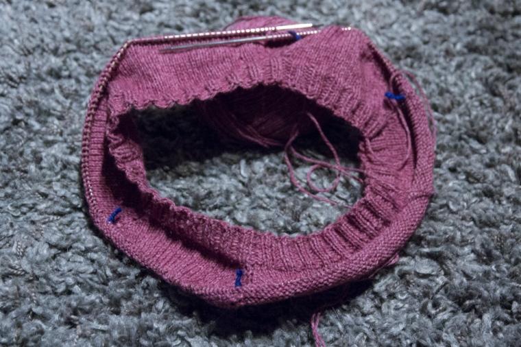 rosa tröja (1 av 1)